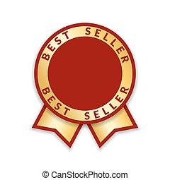 award ribbon the best seller