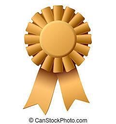 Award ribbon - Vector illustration of an award ribbon