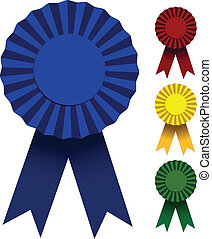 Award Ribbons - Award ribbons vector illustration