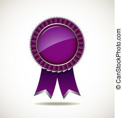 Award rosette - Award Rosette - Ribbon Icon - EPS10