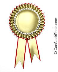Award rosette - Very high resolution 3d rendering of a...