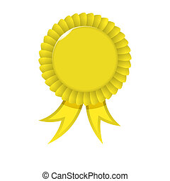 Award yellow Ribbon