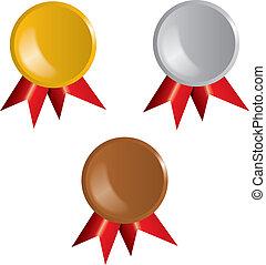 Awards, ribbons