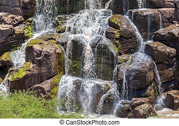 awash, 国民, 滝, エチオピア, 公園