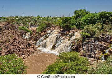 awash, 国民, 滝, 公園