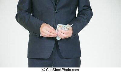 away., concept, personne, moins, argent, 4k, médiation, repos, mouvement, speculation., montant, lent, workers., pris, donne, acquires