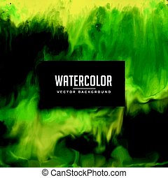 awesome green watercolor texture background