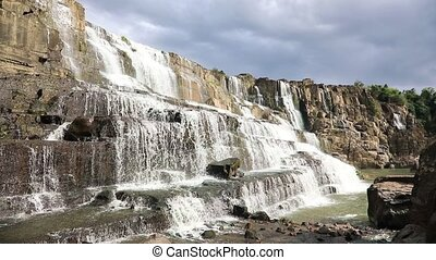Awesome Pongour waterfall - Awesome waterfall Pongour near...