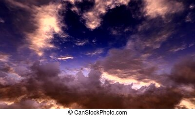 Skyscape timelapse - Awesome  Skyscape timelapse HD video