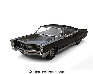 Awesome vintage car - studio shot