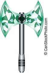 Axe Cartoon Medieval weapon