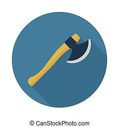 Axe flat icon