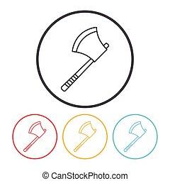 axe line icon