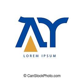 AY Logo Design - AY Logo Concept Design