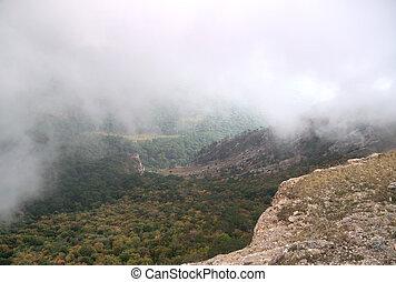 Ay Petri mountain of Crimea - Summer mountain landscape...