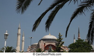 Hagia Sophia (Aya Sofiya) has been consecrated in 537, and for 916 years has been the cathedral of Constantinople. After the Turkish conquest was turned into a mosque, now is the museum
