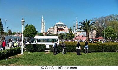 Aya Sofya (Hagia Sophia) a - Hagia Sophia in Istanbul...