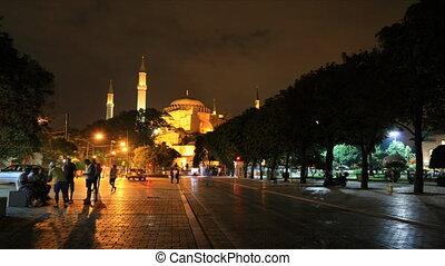 Ayasofya museum timelapse - Istanbul, Turkey