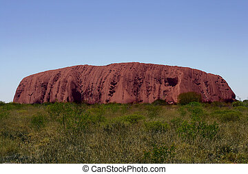 ayers 岩石