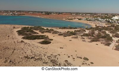 Ayia Napa, Cyprus. above on Makronissos Beach - Ayia Napa, ...
