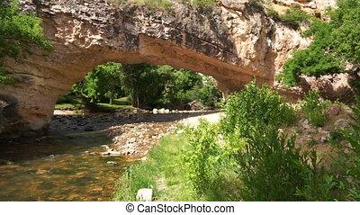 Ayres Natural Bridge Park Converse County Wyoming LaPrele...