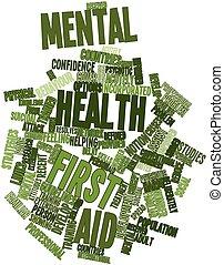 ayuda, salud, mental, primero