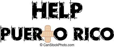ayuda, texto, rico, puerto, 4