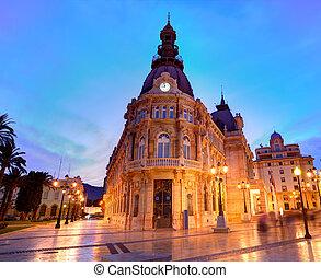 Ayuntamiento de Cartagena Murciacity hall Spain -...