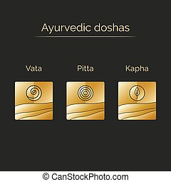 Ayurvedic doshas and elements