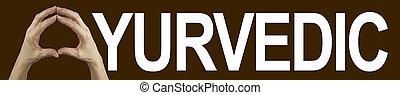 Ayurvedic Hands Banner