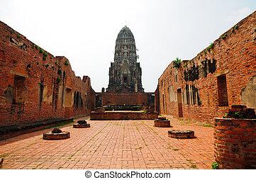 Ayutthay Historical Park in Thailand
