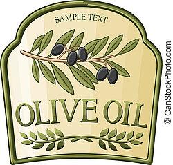 azeite oliva, etiqueta