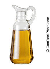 azeitona, cruet, óleo