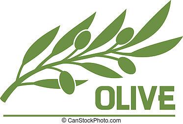 azeitona, symbol), (olive, ramo