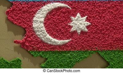 Azerbaijan map - zoom