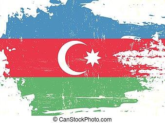 Azerbaijan scratched flag