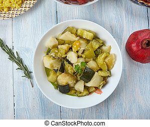 Azerbaijani badimjan borani - badimjan borani, vegetarian ...