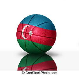 azerbaijani basketball - Basketball ball with the national ...