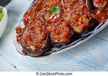 Azerbaijani Garniyarikh - Garniyarikh , meat, garlic, herb, ...
