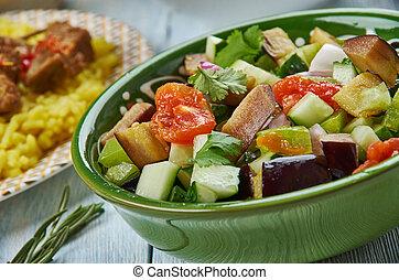 Azerbaijani Mangal salad - Mangal salad, Azerbaijani cuisine...