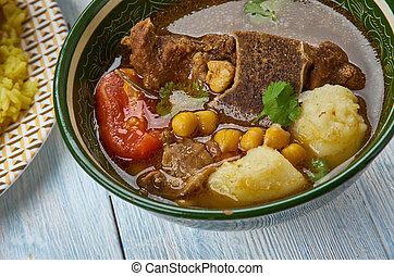 Azerbaijani Qovurma bozbash - Qovurma bozbash , Lamb broth ...
