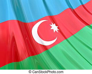 azerbejdżan, bandera