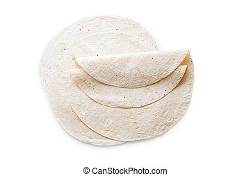 azeri, lavash, freigestellt, traditionelle , (bread), weißes
