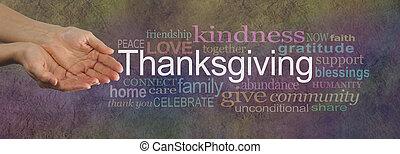 azione, amore, ringraziamento, tuo