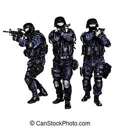azione, squadra swat