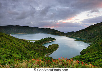 Azores landscape is an amazing Easter holiday destination.