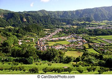 village - azores village of furnas