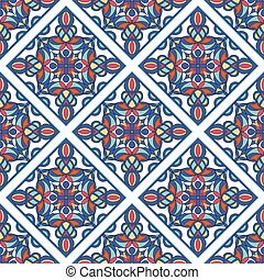 Aztec Culture beauty pattern, outline hand drawn style