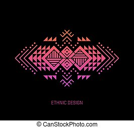 Aztec ornament