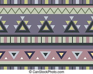 Aztec Print Background